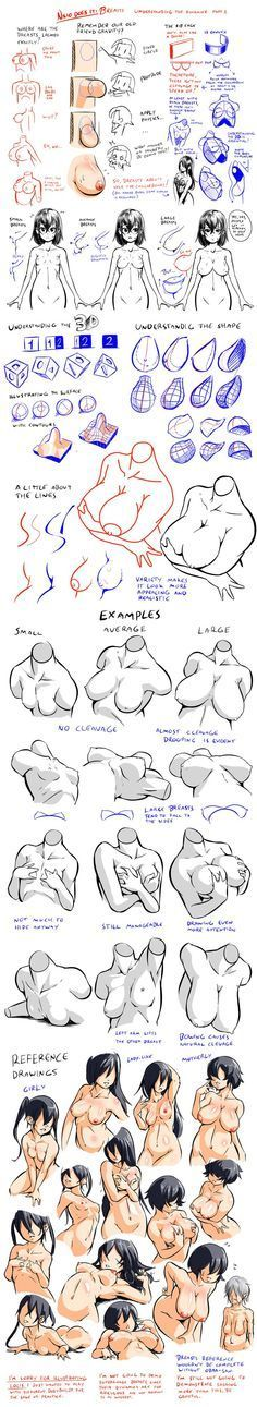 How to Draw Breasts Tutorial By Nsio.deviantart.com