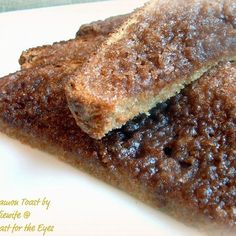 Bliss for breakfast :) - Cinnamon Toast, the Pioneer Woman Way