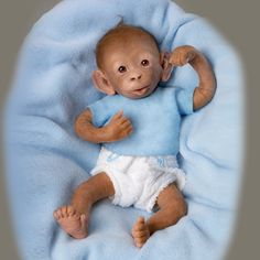 Little Umi Monkey Doll Cuter Than Some Humans Green