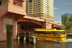 Fotka, Foto Vodní taxi pod Las Olas River House (Fort Lauderdale, USA)