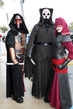 Expanded Universe Sith Lords Cosplay.