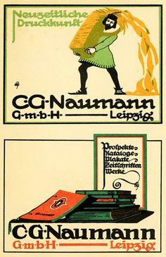 C. G. Naumann, Leipzig by Double--M, via Flickr