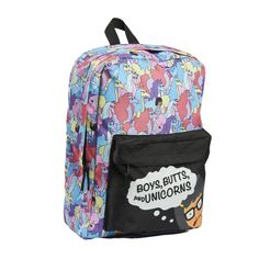 Concept Bob's Burgers Tina Belcher Boys Butts and Unicorns Backpack