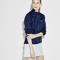 Lacoste SPORT Golf jacket in twill with taffeta panels | LACOSTE