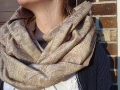 Infinity scarf with hood by PaleDesign on Etsy, $27.00