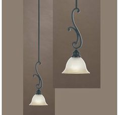 Designers Fountain 96130 Tuscan Single Light Down Lighting Mini Pendant from the Barcelona Collection