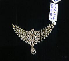 Diamond Mangalsutra, Diamond Jewellery, Diamond Studs, Mangalsutra Design, Delicate Gold Necklace, Bold Necklace, Diamond Pendant Necklace, India Jewelry, Gold Jewelry