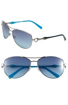 719743a1a20b Shades of Couture by Juicy Couture  Deco  Aviator Sunglasses