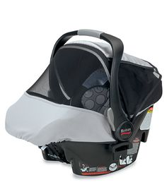 The BRITAX Infant Car Seat Sun & Bug Cover provides protection from harmful UV rays and insects. Blocks 98% of UV rays and is UPF 50+ fabric. Once installed, you can have full sun coverage or a panel can be folded back exposing a large mesh window for viewing your child and increased ventilation.