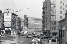 Burnside and Valentine Ave -1970 , Bronx, New York