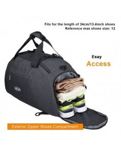 Sports Gym Bag With Shoes Compartment Sporting Goods Waterproof Travel Duffel Bag For Men And Vivid And Great In Style