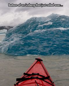 The Bottom Of An Iceberg
