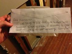 A donation to an expecting couple whose home was damaged by Hurricane Sandy.Share this on Facebook?Easy Tips to Get Your Waistline Under Control