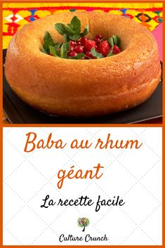 Mauritian Food, Crunch Recipe, Soup Appetizers, Healthy Deserts, World Recipes, Cakes And More, Coco, Caramel, Bakery