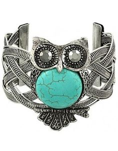 Owl Turquoise Cuff $13.95 http://endlessxpressions.com/store/index.php?route=product/search&search=Owl&limit=50