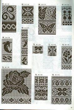 жаккард free knit chart pattern fair isle