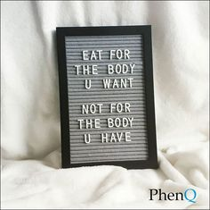 It's your choice 👌💪 - PhenQ Motivation - Diet Healthy Food Choices, Healthy Eats, Healthy Snacks, Isabody Challenge, Letter Board, Word Board, Best Weight Loss Pills, Weight Loss Motivation, Fitness Motivation
