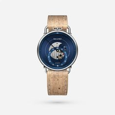 Custom Automatic with Natural Cork Strap Communication Methods, French Signs, Shipping Date, Tomorrow Will Be Better, Make Time, Cork, Watches For Men, Natural, Top Mens Watches