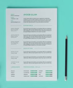 Resume Template Word  Free Cover Letter Cv Template Teacher