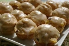 Ww 2 Points - Frosted Banana Bread Muffins