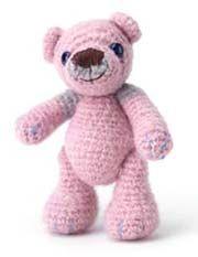 "Little Teddy Bear Amigurumi for Thailand ~ Free PDF Pattern ( click the blue letters: ""Little Teddy Bear crochet pattern"" to Download)"