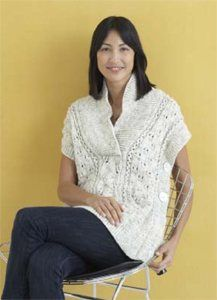 Tabard Vest, As Seen on Knitting Daily TV Episodes 508, 509, 510, 511, 512, and 513 - Media - Knitting Daily