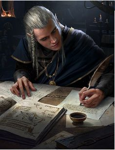 Elven Sage The Witcher 3 Wild Hunt / Gwent Card. Elven Sage The Witcher 3 Wild Fantasy Male, Fantasy Rpg, Medieval Fantasy, Fantasy Artwork, Fantasy World, Elves Fantasy, Tolkien, Legolas, Thranduil