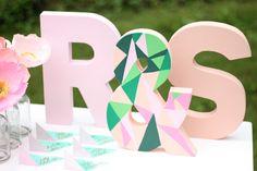 Appetite Paper: DIY - Easy Paper Mache Letters                                                                                                                                                     More
