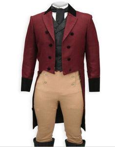 Vino por Encargo Tailcoat Trajes Slim Fit Hombres Pantalón Marrón Negro Chaleco, Bespoke Esmoquin De Cola Larga Cola Abrigo, sastre Rojo Tuxedo Tailcoat