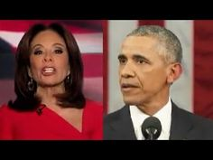 WOW! Judge Jeanine Pirro loses her filter on Barack Obama!!!!