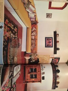 Interior of the house with its antique design.  And was put on the house and gardens magazine in Turkey edition at 2004.