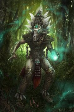 ✯ Witch Doctor .. By ~Anatheme ✯