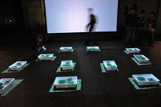 Origami provvisorio, VJ set by OHT|Filippo Andreatta, Mart up! Vivi il museo, october 2011