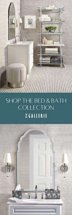 Stylish Home Decor & Chic Furniture At Affordable Prices Bathroom Collections, Home, Neutral Bathroom, Glamorous Bathroom Decor, Neutral Bathrooms Designs, Bathroom Interior Design, Chic Furniture, Bathroom Design, Small Apartment Bathroom