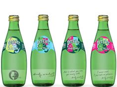 Andy Warhol Perrier Bottles