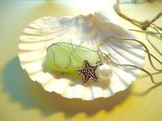 $17.00 Beach Bride Starfish Necklace.  NEW LISTING