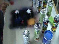First time spray paint art