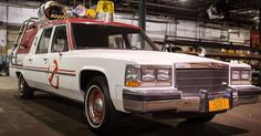 Who you gonna call? Paul Feig's all-star team of lady Ghostbusters. What tricked out car are they gonna drive? This beauty:  See also: Paul Feig reveals design for the new 'Ghostbusters' proton p...