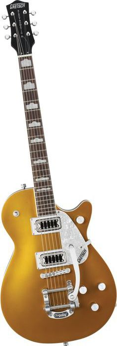 Gretsch Guitars G5435T Electromatic Pro Jet w/Bigsby Electric Guitar Gold (Own one without the Bigsby. Beauty)