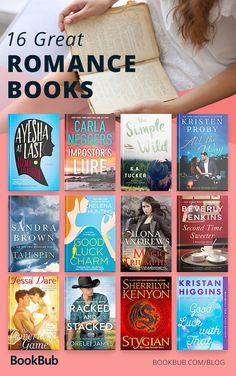 16 new romance books worth reading; these great romance novels would make perfect book cub picks!