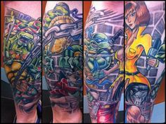 One of *the* finest TMNT tattoos
