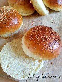 Hamburger Buns, Hamburger Recipes, Mini Hamburgers, 9 Mai, Base, Beignets, Street Food, Nutella, Brunch