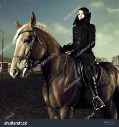 woman riding horse - Google Search