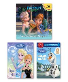 Look what I found on #zulily! Frozen Time to Shine Paperback Set by Frozen #zulilyfinds