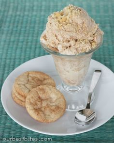 Snickerdoodle Ice Cream | Our Best Bites--used for basic vanilla recipe but will have to try other versions.
