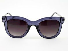 The classic shape and lovely purple hue make the Audrey sunglasses a store favorite.
