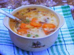 Makacska konyhája: Póréhagymás, füstölt kolbászos zöldségleves
