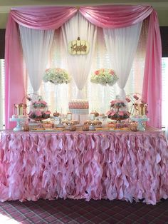 Baby shower party ideas in 2019 Girl Baby Shower Decorations, Girl Decor, Birthday Party Decorations, Baby Shower Themes, Shower Ideas, Baby Shower Fall, Fall Baby, Girl Shower, Shower Party