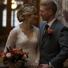 Kirsty's Wedding, lovely soft style Lace Wedding, Wedding Dresses, Hair Makeup, Style, Fashion, Bride Dresses, Swag, Moda, Bridal Gowns