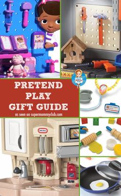 Looking for something for an imaginative child? We've got 15 great pretend play gift ideas perfect for Christmas and birthdays!